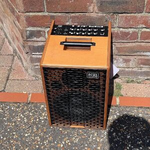 """#repost @gbmusicretail ・・・ Acus One For Street 8 Wood Offers a wide range of applications thanks to its extensive functionality, as a replaceable, optionally available 18V Battery Allows Independent Operation. The robust laminated wood Housing Accommodates a High- Resolute 8"""" Speaker and a 1"""" Tweeter. 90W power out. 3 Separate Channel's. Microphone Input. Aux Input. Integrated Effects Processor. Available in store and online now!!!! 😃😃 #acus #acusamps #acusamplifiers #acusamp #acussoundengineering #acus_sound_engineering #amp #acousticartists"""